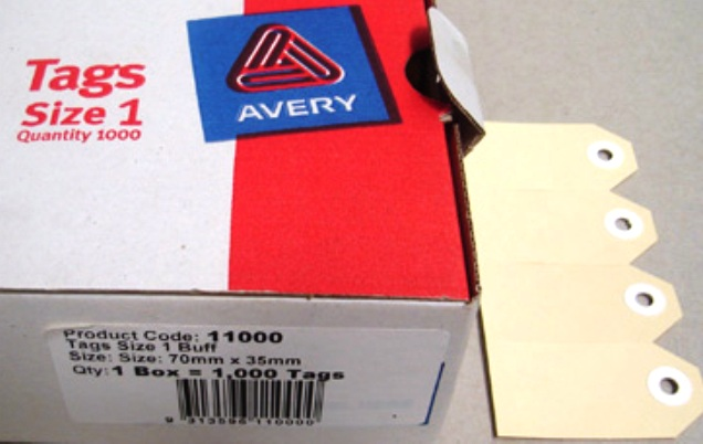 Avery Shipping Tags Avery 11000 Shipping Tags Size