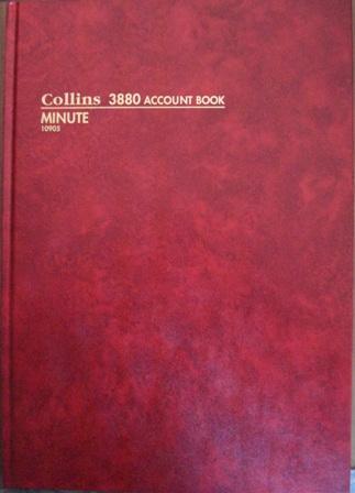Collins 10905 3880 Minute Account Book 84 Leaf A4 Collins
