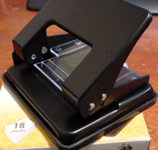 Marbig 88028 Black 2 Hole Punch