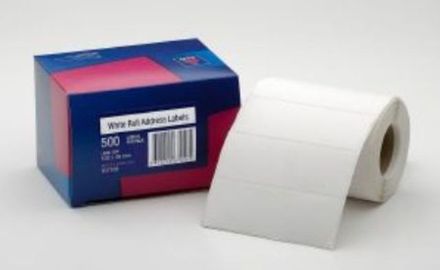 Avery 937109 102 x 36mm Address Label 500 Per Roll
