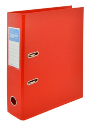 Bantex A4 70mm PVC Lever Arch File Red 1450-09 Box 10