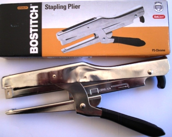Bostitch P3 - Chrome Classic Plier Stapler
