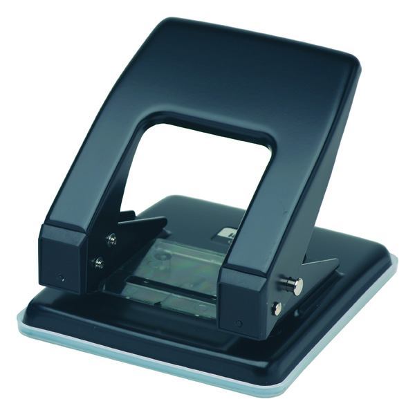 Carl 70 2 Hole Punch Black 700700 30 Sheet Capacity