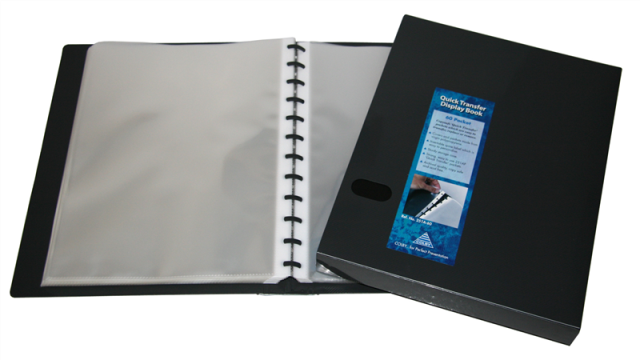 Colby 251A 60 Pocket Refillable Quick Transfer Display Book