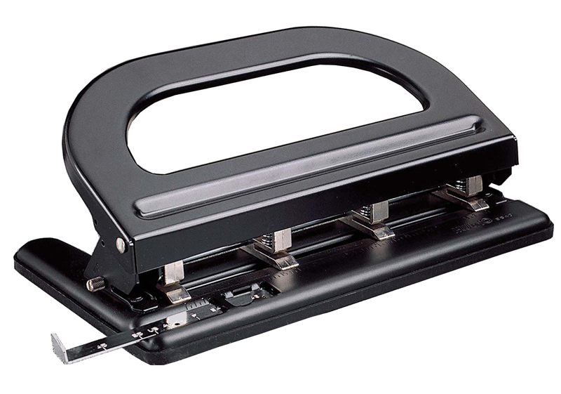Colby KW9640 Adjustable 4 Hole Punch Heavy Duty 6mm Punch hole