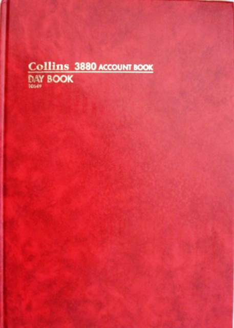 Collins 10849 3880 Account Day Book 84 leaf A4 Hard Cover