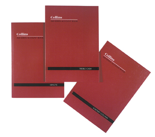 Collins 10301 A60 Series Account Book Day 60lf A4