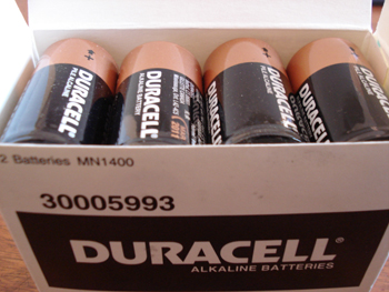 Duracell C size Battery Box 12