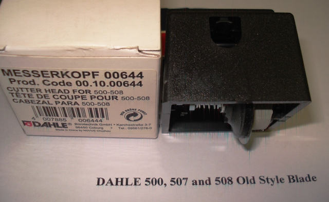 Dahle 507/508 Trimmer Spare Blade Head (Old Style)