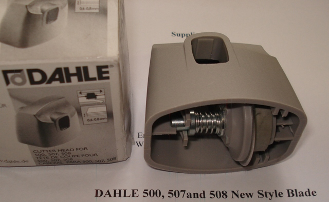 Dahle 507/508 Trimmer Spare Blade Head (New Style) - Free Ship.