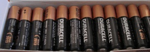 Duracell AAA size Battery Box 24