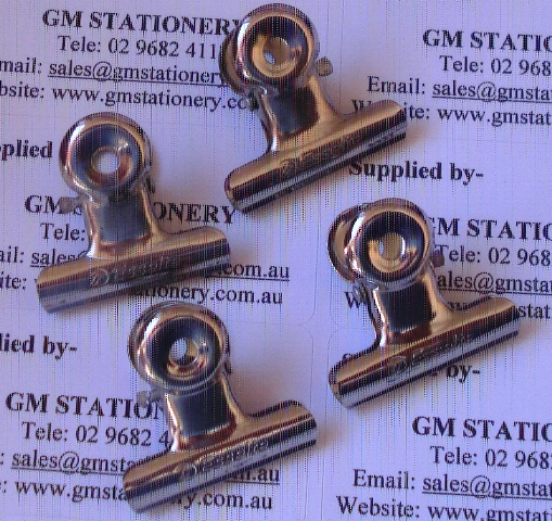 Esselte Bulldog Letter Clip 38mm Box 72