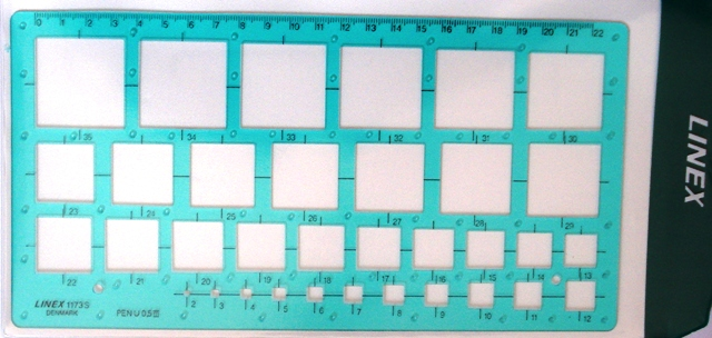 Linex 1173s Square Template