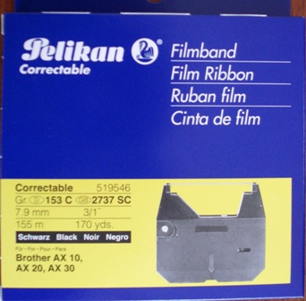 Fullmark Ribbon for Brother Typewriters AX series Group 153C