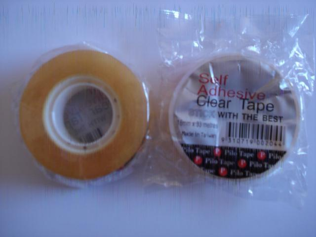 Pilot 306220 Office Tape Clear 12mm x 33m Roll
