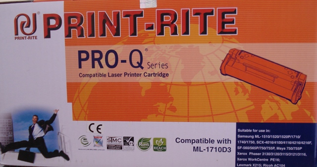 Print- Rite Q1710D3 Toner Cartridge Black