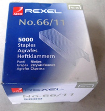 Rexel R06070 Staples 66/11 11mm Box 5000