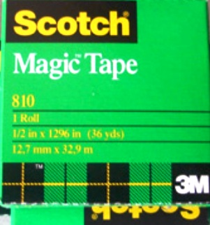Scotch 810 Magic Tape 12mm x 32.9M Boxed Roll