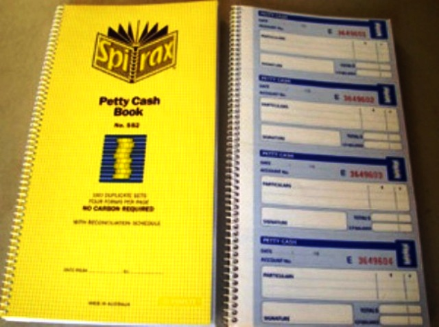 Spirax 552 Petty Cash Book 55229