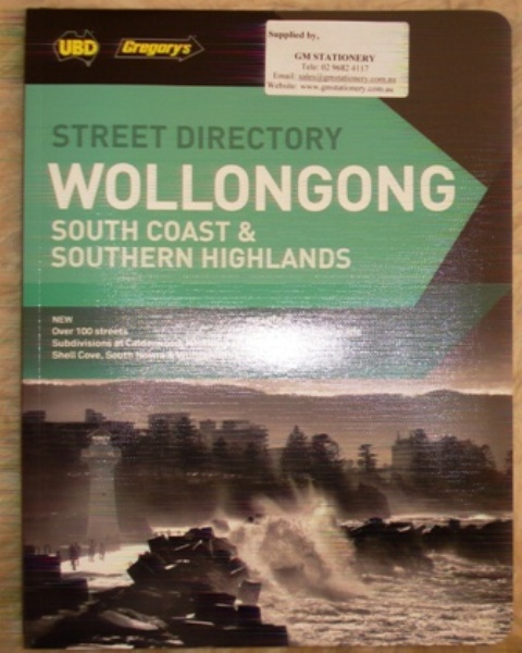 UBD Wollongong South Coast & Southern Highlands 23rd Edition