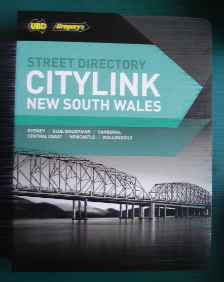 UBD 27th Edition NSW City link Street Directory 2017-2018