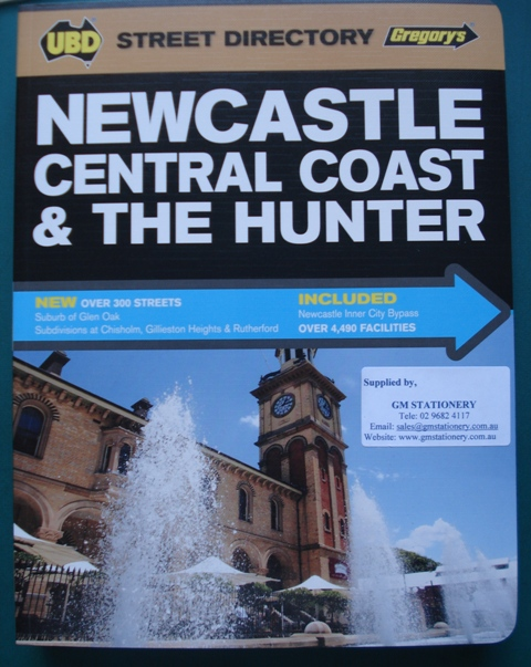 UBD Newcastle Central Coast & The Hunter Directory 7th Edition