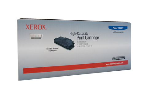 Xerox CWAA0758 Phaser 3100MFP Toner Black Genuine